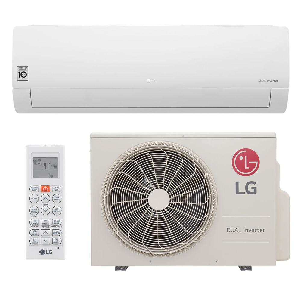 d964aded5 Ar Condicionado Split Dual Inverter LG 22.000 Btus Frio 220v ...